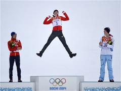 Eric Frenzel wins first Nordic combined gold of Sochi 2014