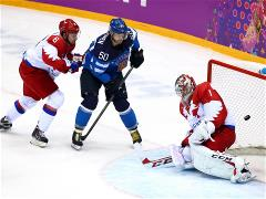 Russian hockey team leaves Olympic tournament