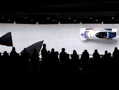 Russia lead two-man bobsleigh