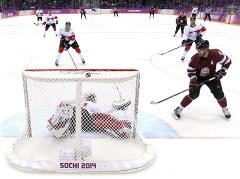 Quarterfinal round of Olympic ice hockey tournament has finished
