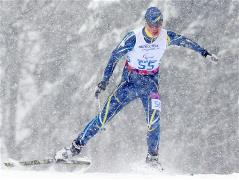Skiers compete for Paralympics medals in the sprint