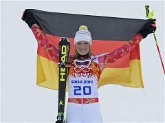 Hoefl-Riesch closes in on Kostelic record