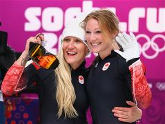 Canada beat US to gold in 2-woman bob