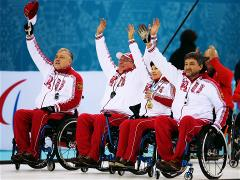 Russia and Canada to compete in wheelchair curling final