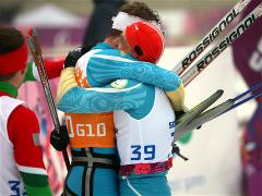 Biathlon for visually impaired athletes concluded in Sochi