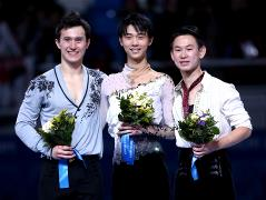 Hanyu gives Japan first men's figure skating gold