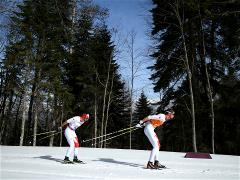 Canada's Brian McKeever wins 20 km cross-country gold