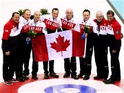 Canada win third successive men's curling gold