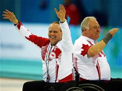 Canada claim gold in the Wheelchair Curling tournament