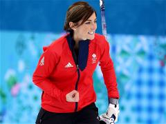The British women's curling team won the bronze medal at the Games in Sochi