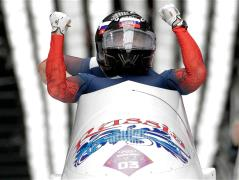 Russia win two-man bobsleigh
