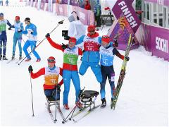 Triumphant Finish for Russian Skiers in Open Relay
