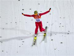 Kamil Stoch wins second gold of Sochi 2014