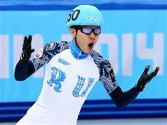 Viktor Ahn sets new short track records