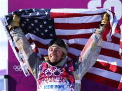 First gold medal of the Sochi Winter Olympics goes to US snowboarder Kotsenburg