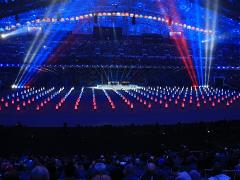 Athletes from all over the world impressed by the Opening Ceremony of the Games in Sochi