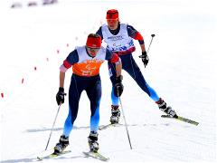 Russian cross-country skiers win the final medals in their categories
