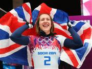 Elizabeth Yarnold wins Britain's first gold at Sochi