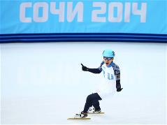 Victor Ahn victorious again in 500m short track gold