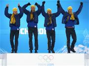 Sochi 2014 Day 11 - Medal Ceremony