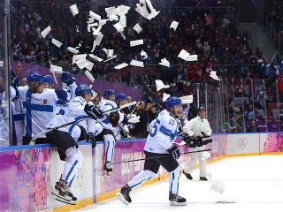 Sochi 2014 Day 16 - Ice Hockey Men's Bronze Medal Game