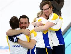 Sochi 2014 Day 15 - Curling Men's Bronze Medal Game