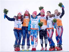 Sochi 2014 Paralympic Games - Cross Country Women's 1km Sprint Free Day 6