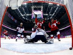 Sochi 2014 Day 15 - Ice Hockey Men's Play-offs Semifinals Canada V USA