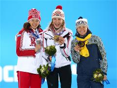 Sochi 2014 Day 4 - Medal Ceremony