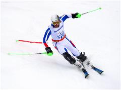 Sochi 2014 Paralympic Games - Alpine Skiing Men's Super G Day 5