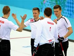 Sochi 2014 Day 11 - Curling Men's Round Robin Session 12