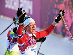 Sochi 2014 Day 5 - Cross Country Ladies Sprint Free Finals