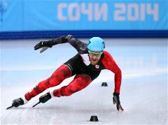 Sochi 2014 Day 7 - Short Track Men's 5000 m Relay Semifinals