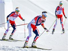 Sochi 2014 Day 16 - Cross Country Ladies' 30 km Mass Start Free