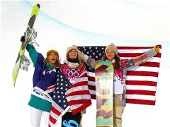 Sochi 2014 Day 6 - Snowboard Ladies' Halfpipe Finals