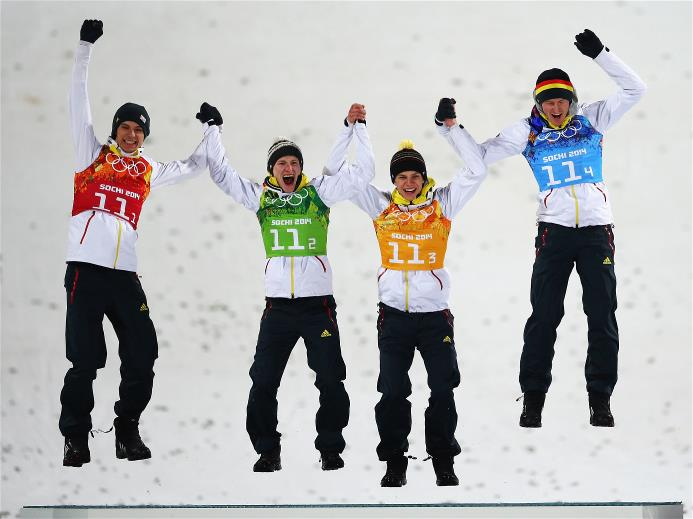 Sochi 2014 Day 11 - Ski Jumping Men's Team