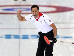 Sochi 2014 Day 13 - Curling Men's Semifinal