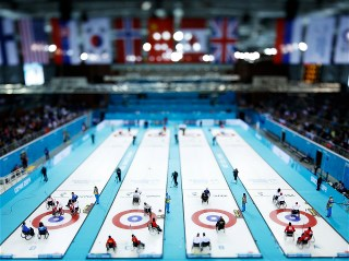 Sochi 2014 Paralympic Games - Wheelchair Curling Day 3