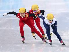 Sochi 2014 Day 7 - Short Track Ladies' 500 m Finals
