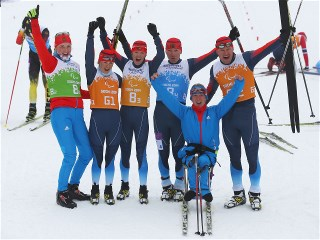 Sochi 2014 Paralympic Games - Cross Country Skiing 4 x 2.5km Mixed Relay Day 9