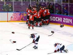 Sochi 2014 Day 14 - Ice Hockey Women's Gold Medal Game
