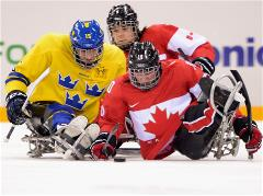 Sochi 2014 Paralympic Games - Ice Sledge Hockey Preliminary Round Day 2