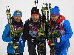 Sochi 2014 Day 3 - Biathlon Women's 7.5 km Sprint
