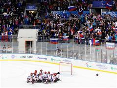 Sochi 2014 Paralympic Games - Ice Sledge Hockey Preliminary Rounds Day 5