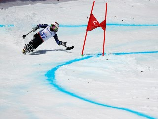 Sochi 2014 Paralympic Games - Alpine Skiing Women's Giant Slalom 1st Run Day 10