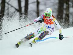 Sochi 2014 Day 15 - Alpine Skiing Women's Slalom Run