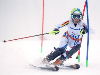 Sochi 2014 Paralympic Games - Alpine Skiing Women's Slalom Day 6