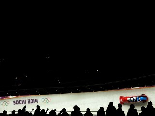 Sochi 2014 Day 16 - Bobsleigh Four-man Heat