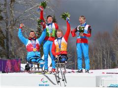 Sochi 2014 Paralympic Games - Cross Country Skiing 4 x 2.5km Relay Day 9