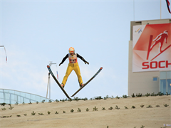 FIS Ski Jumping World Cup at the RusSki Gorki Jumping Center in Sochi